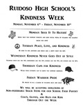 Kindness Week - November 6-10