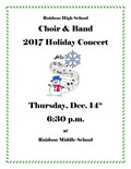 2017 Choir & Band Holiday Concerts - December 14, 2017
