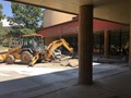 Ruidoso High School Entry Under Construction