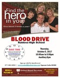 Blood Drive Sponsored by RHS S.A.D.D.