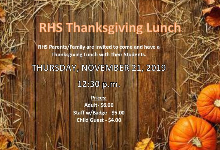 RHS Thanksgiving Lunch