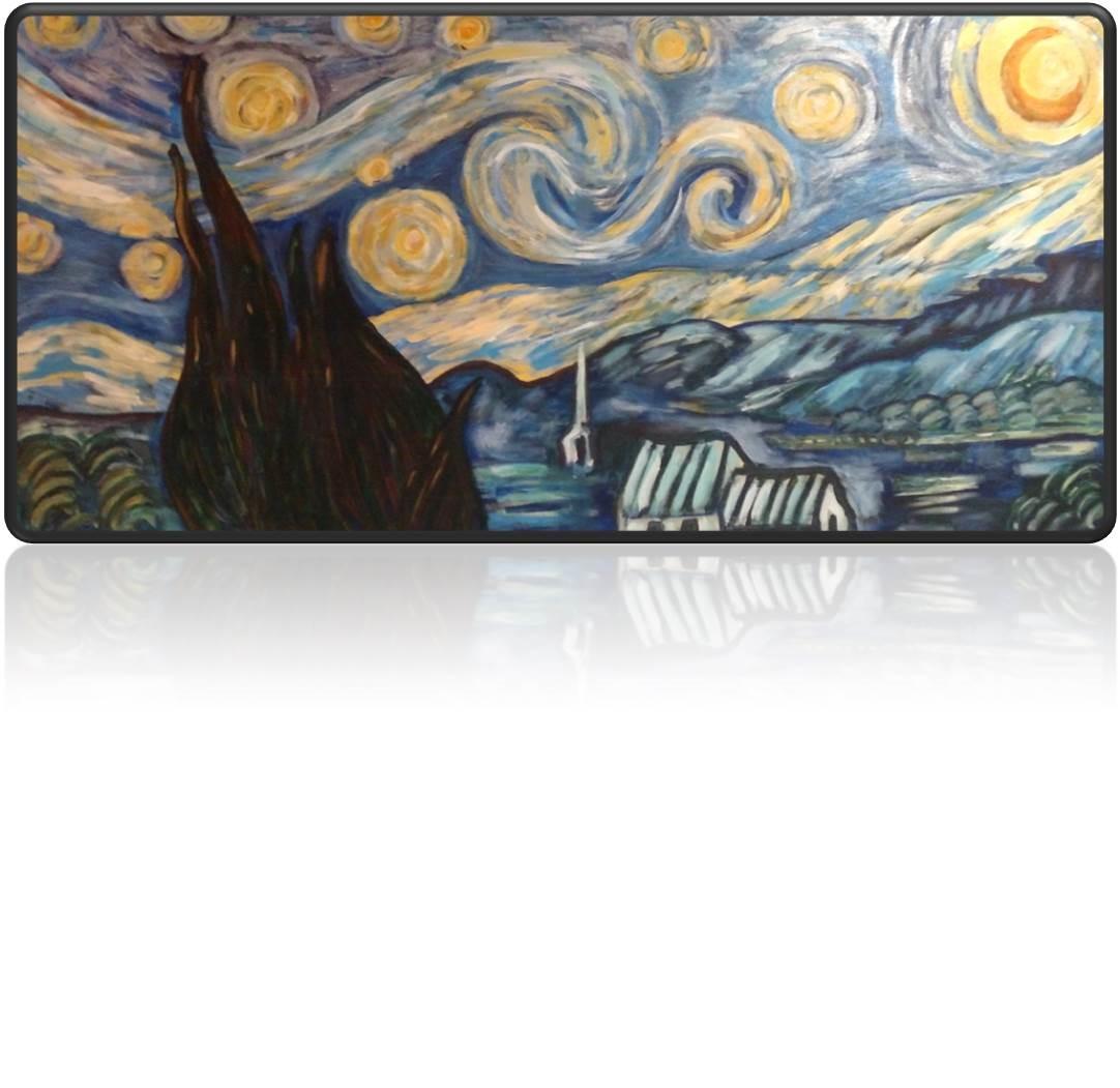 Mrs. Dante's version of 'Starry Night'