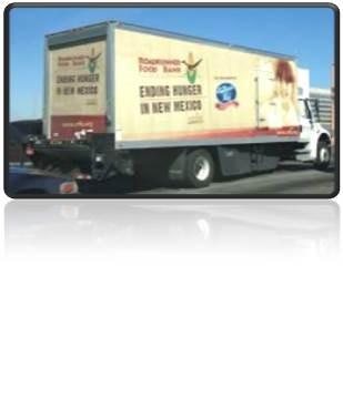 Monthly Food Bank Truck