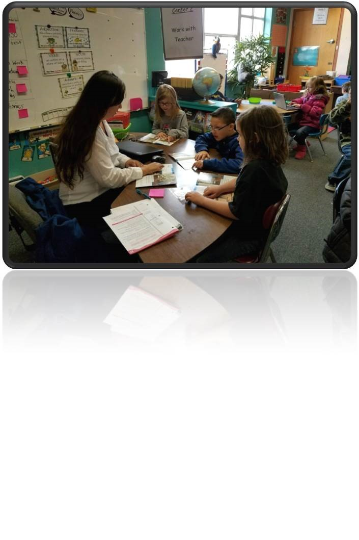 Mrs. Narvaez in Second Grade Doing Small Groups