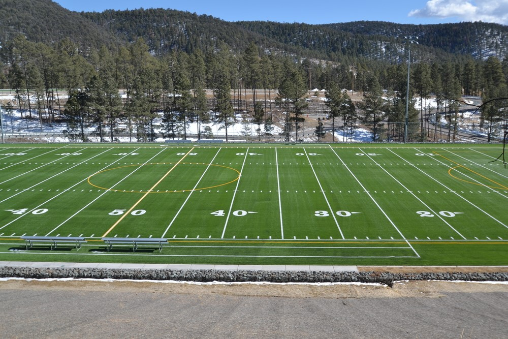 Ruidoso Middle School Football Field