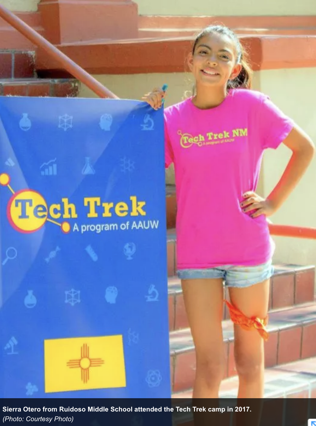 Girl student nominees for Tech Trek camp sought
